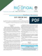 Ley 1505 de 2012 - Subsistema Nacional de Voluntariado.pdf