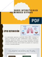 Enfermedades Intersticiales Pulmonares Difusas
