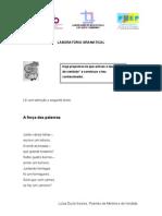 laboratório gramatical