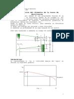 Determinación Del Diámetro de La Torre de Destilación