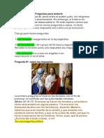 Mateo 22 Las Preguntas a Jesus