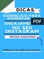 11 Dicas Essenciais Para Aumentar o Engajamento No Seu Instagram-eBook