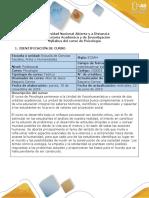 Syllabus Del Curso Psicología