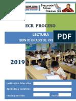 LECTURA 5° _PRIMARIA_ECR PROCESO 2019