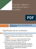 PPT La revolución Cubana