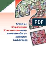 2011 Guía de Preguntas Frecuentes Sobre Prevención de Riesgos Laborales