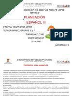 Plan Español