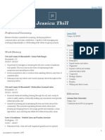 jessica thill resume complete