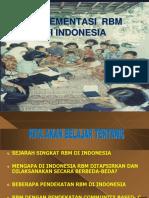 Implementasi Rbm Di Indonesia 2015