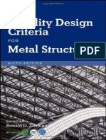 Guide to Stability Design Criteria for Metal Structures 6ed Zeiman 2010 1117p