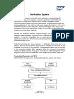 SAP Production Planning Script