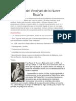 Poesía Del Virreinato de La Nueva España