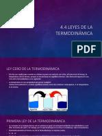 4.4 Leyes de La Termodinamica
