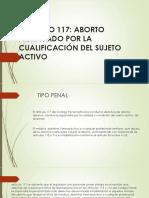 Aborto sujeto activo