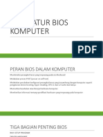 Mengatur Bios Komputer