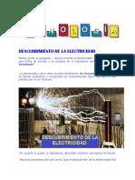 Descubrimiento de La Electricidad