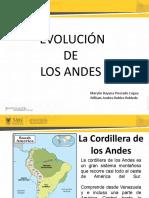 Evolucion de Los Andes