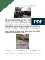 Kampus  UBSI Tegal Sambut Mahasiswa Baru dengan ORMIK&SEMOT