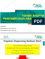 2019.09. Teknik Aseptik