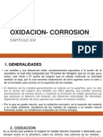 OXIDACION- CORROSION