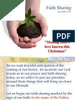 SFC Faith Sharing Dec. 2015