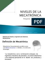 Niveles de La Mecatrónica