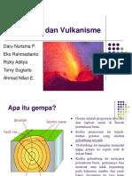 Gempa Dan Vulkanisme