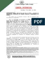 Carta Notarial - Local Comunal A