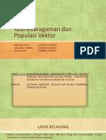 keanekaragaman dan populasi vektor