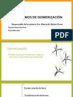 Mecanismos de Isomerización