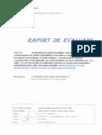 Raport de evaluare - Grila notariala