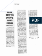Philippine Star, Sept. 12, 2019, House panel OKs property reform measure.pdf