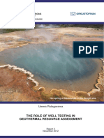 (2012) the Role of Well Testing in Geothermal Resources Assessment