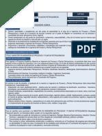 Maestria en Ingeniería de Procesos y Plantas Petroquímicas 1