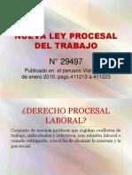 Nueva ley procesal del trabajo en peru manual comentado