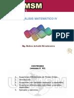 Semana N° 02 [ Análisis Matemático IV ]