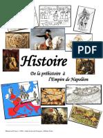 De La Préhistoire à l'Empire de Napoléon