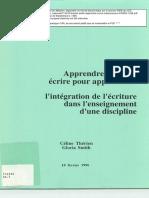 714333 Therien Smith Apprendre Ecrire Maisonneuve PAREA 1996