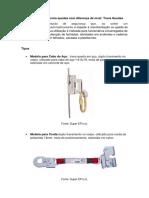 EPI Para Proteção Contra Quedas Com Diferença de Nível
