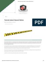 Tutorial About Hazard Ratios - Students 4 Best Evidence