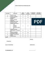 Format Rekapitulasi Perolehan Skp