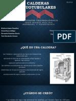 Capacidades y Características de Las Calderas Acuotubulares