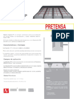 01-Ficha Tecnica Viguetas VP Pretensa 2016