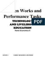 Performance Task in TLE 6