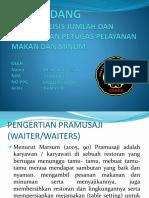 PPT pelayanan makan dan minum