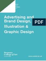 Advertising & Brand Design, Illustration & Graphic Design