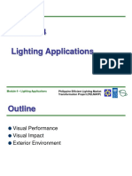 Module 4 - Lighting Applications
