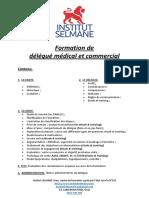 Contenu - Délégué Commercial Et Médical - Institut Selmane Oran