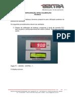Configuracao Apos Calibracao Da Balanca Integradora 8031