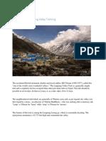 Langtang Valley Trek Nepal